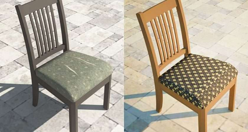 Reupholster Dining Chair Seat Easy Steps Project