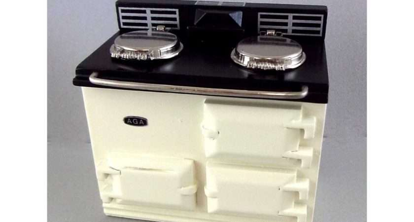 Reutter Kitchen Furniture Cream Aga Stove Oven