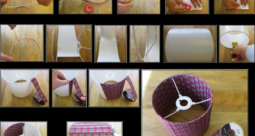 Ribbon Lampshade Making Kit