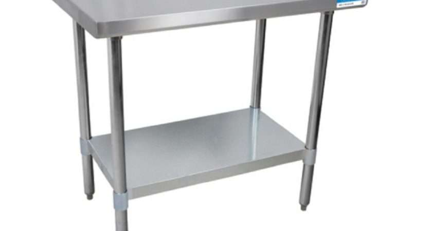 Riser Top Stainless Steel Work Tables Ebay