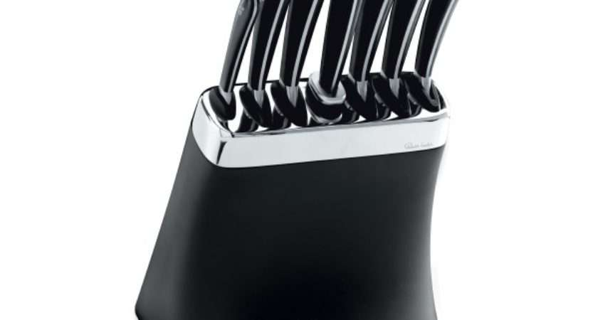 Robert Welch Knife Block Set Sharpening Steel