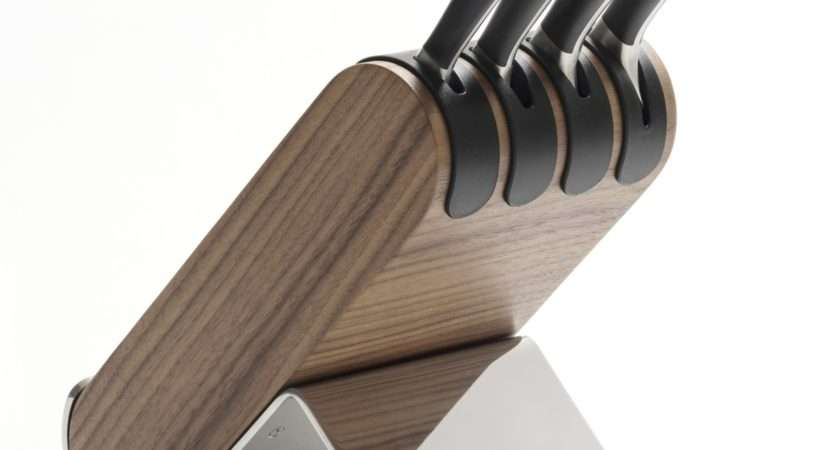 Robert Welch Signature Knife Block Set Walnut