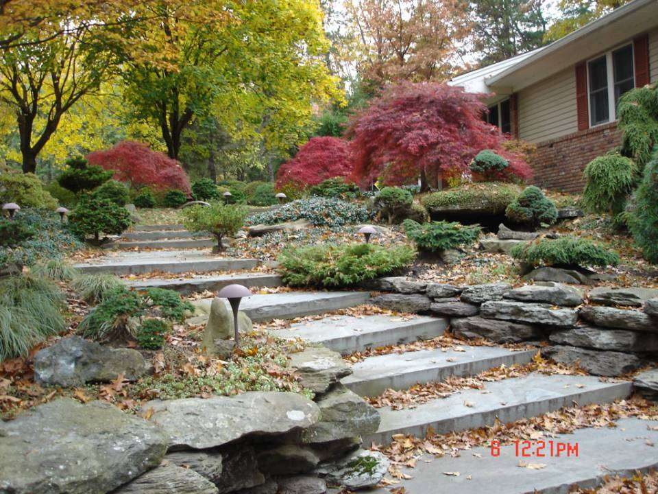 Rock Gardens Stone Retaining Walls Hickory Hollow Landscapers