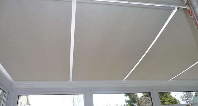 Roller Roof Blinds Conservatory Window