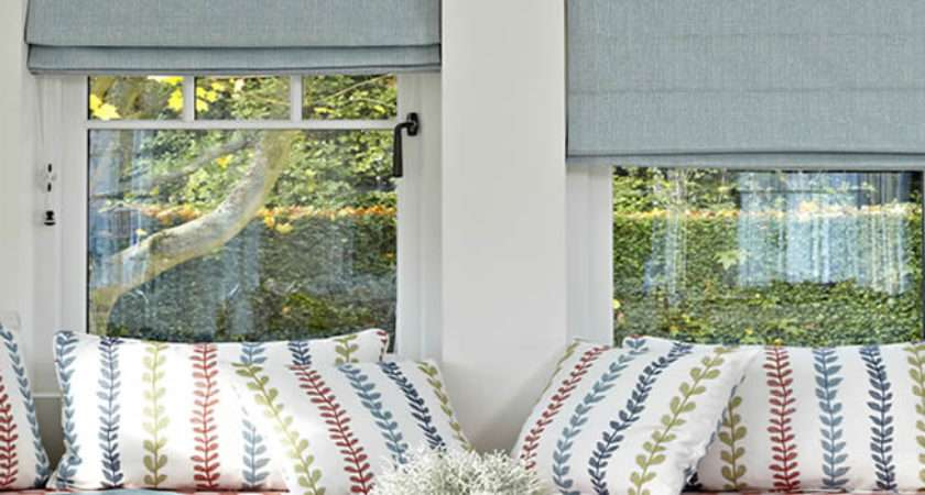 Roman Blinds Luxury Made Measure English
