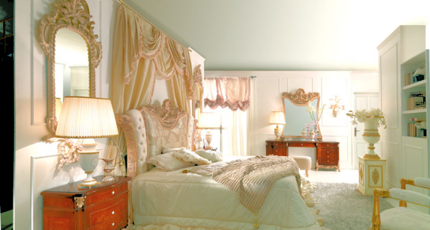 Romantic French Style Bedroom