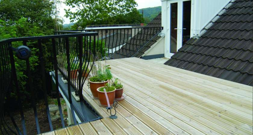 Roof Balcony Exterior Transitional
