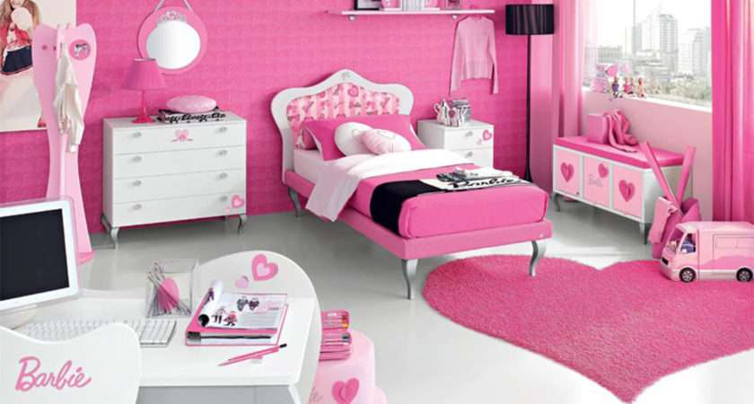 Room Decor Ideas One Total Modern Casual Pink Teenage