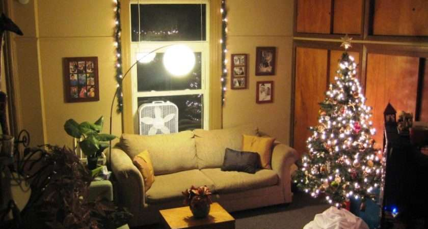 Room Decor Living Simple Christmas Decorating