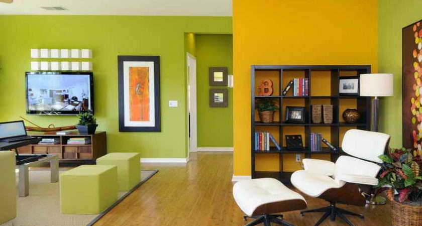 Room Ideas Green Grey Lime Living