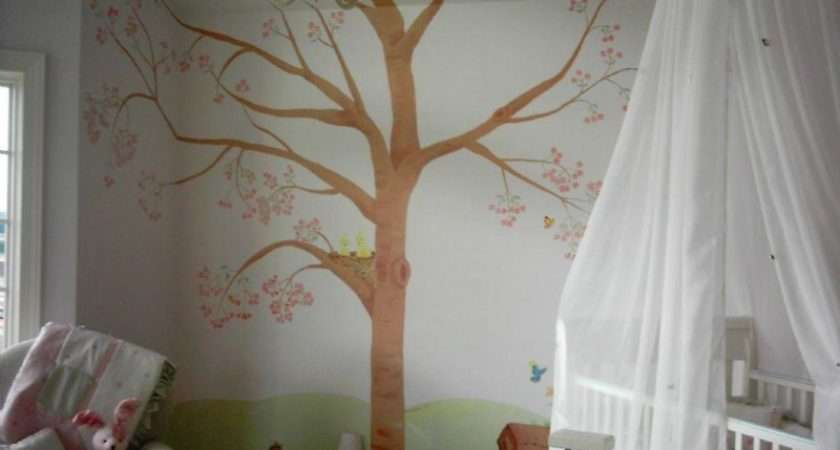 Room Paint Ideas Cute Natural Themed Kids