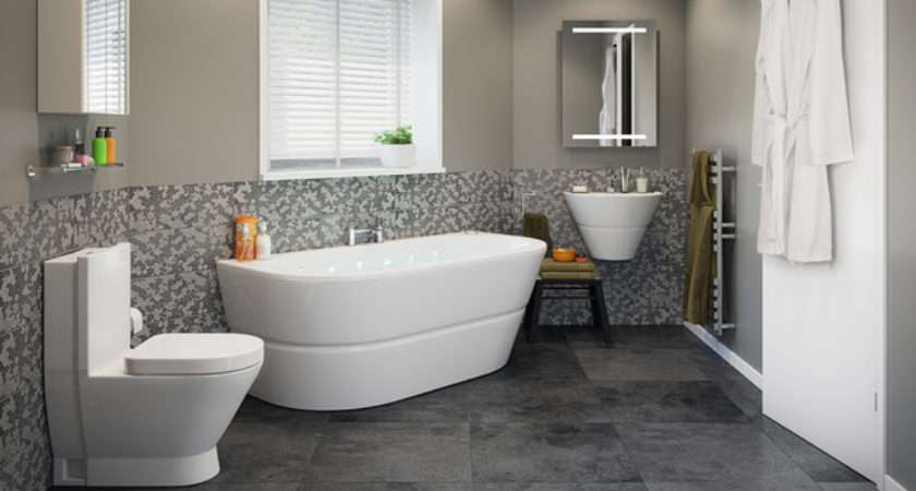Rosalind Bathroom Suite Contemporary Other