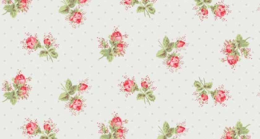 Rose Sprig White Floor Tile Cath Kidston Harvey Maria