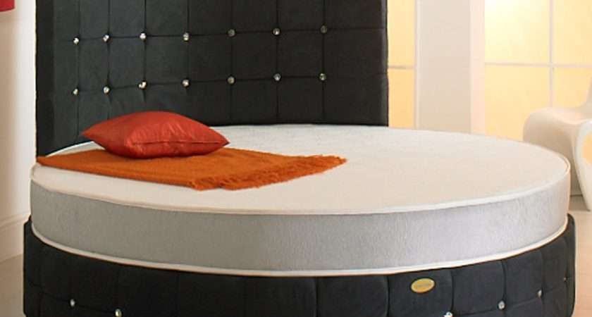 Round Beds Sale Luxurious Leather
