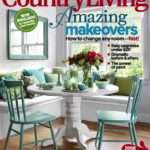 Round Table Cover Country Living Magazine Ecustomfinishes
