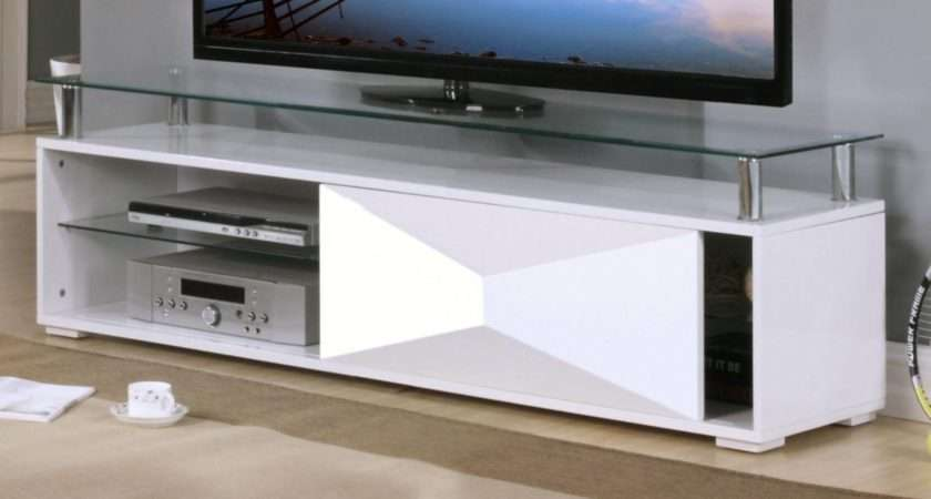 Rowley White High Gloss Cabinet