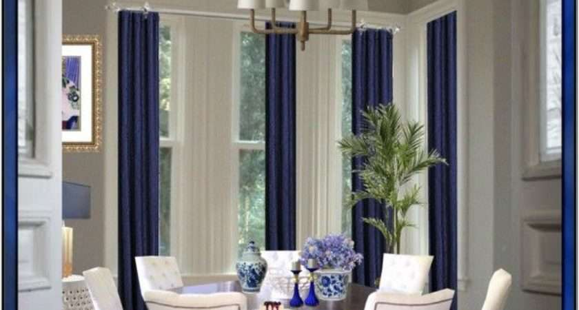 Royal Blue Curtains Pinterest Bedrooms