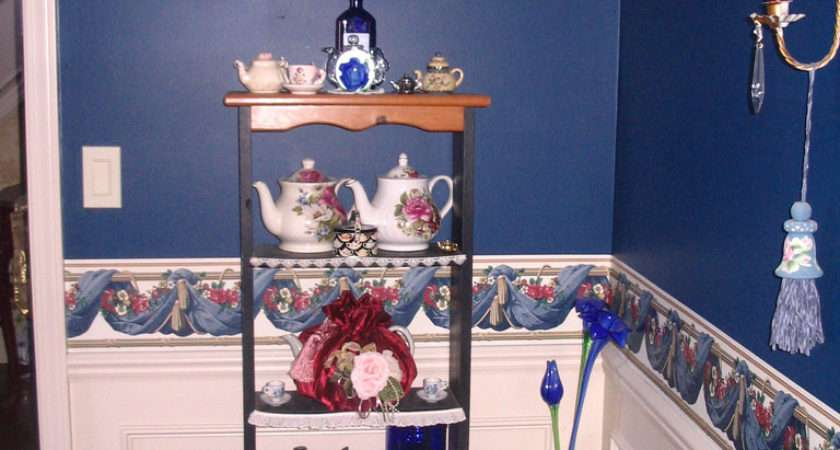 Royal Blue Dining Room Decorations Christmas