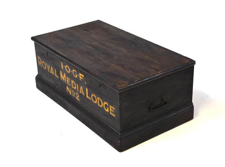 Royal Media Lodge Wooden Chest Chests Trunks