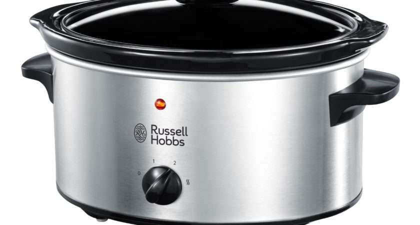 Russell Hobbs Slow Cooker Stainless Steel Octer