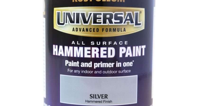 Rust Oleum Universal All Surface Paint Hammered Silver