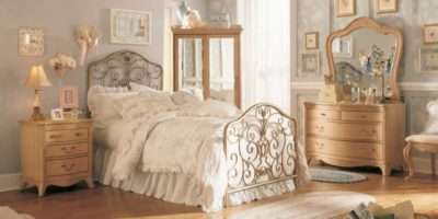 Rustic Minimalist Vintage Bedroom Decor Ideas Wooden Floor