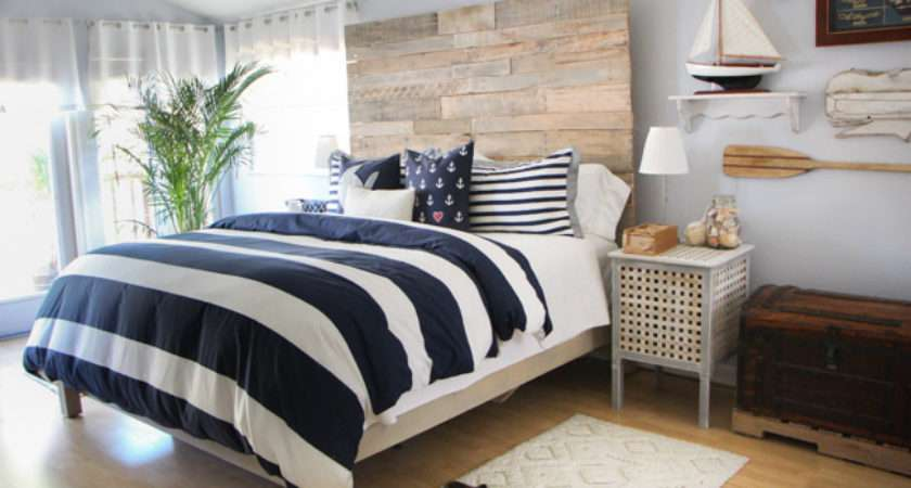 Rustic Nautical Master Bedroom Makeover Source Guide