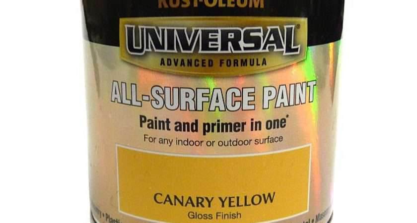 Rustoleum Universal All Surface Paint Canary Yellow