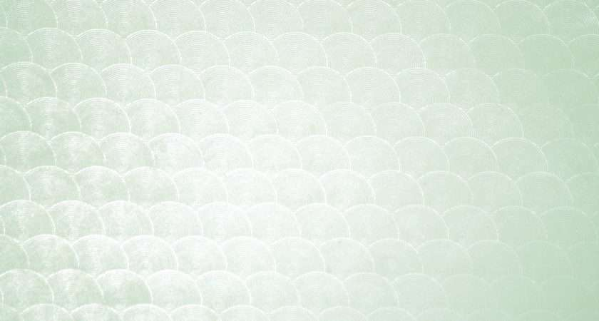 Sage Green Circle Patterned Plastic Texture Photograph