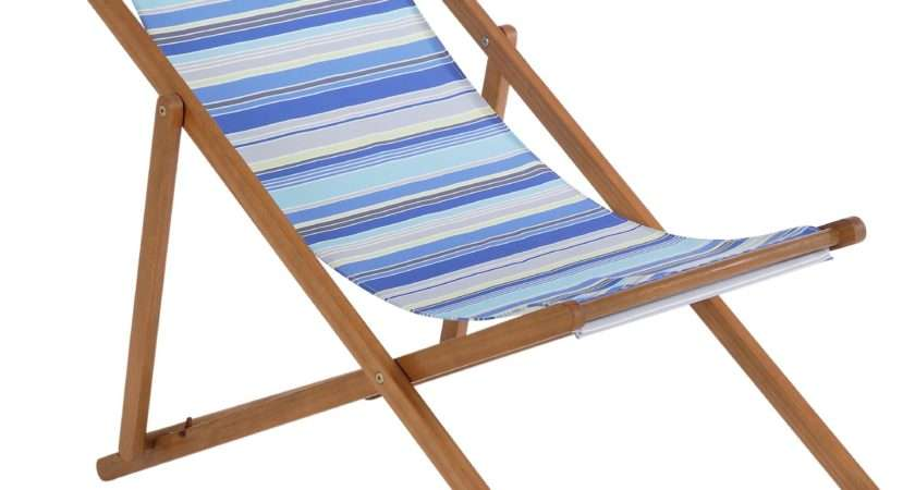 Sale Deck Chair Blue Striped Argos Now Available