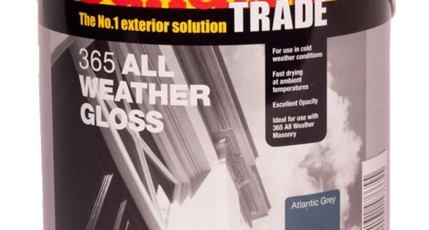 Sandtex All Weather Fast Drying Exterior Gloss Paint Grey