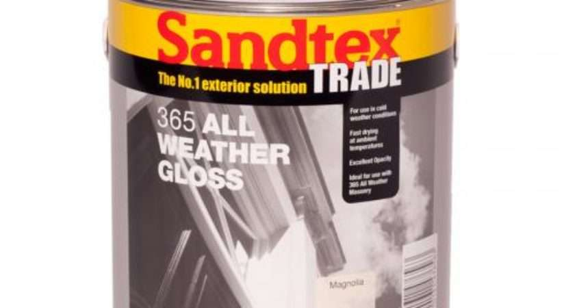 Sandtex Exterior Gloss Paint Delivery