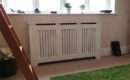 Satin White Radiator Covers