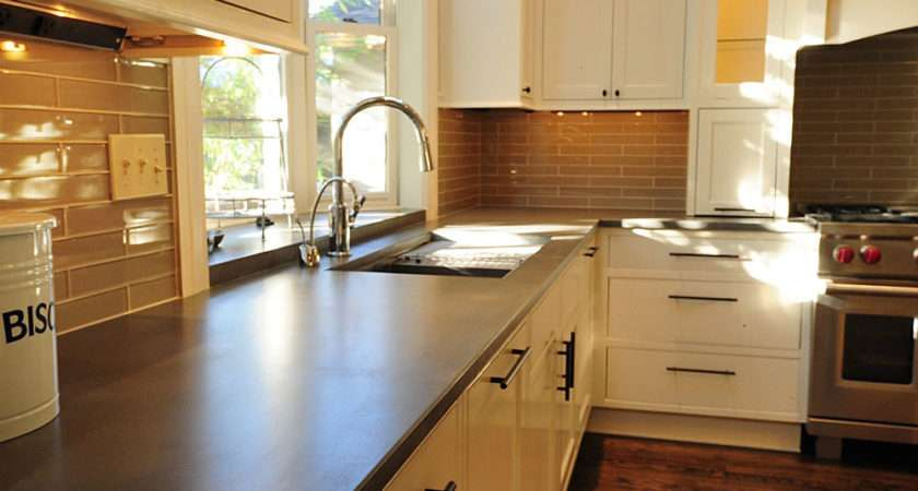 Save Money Pour Your Own Concrete Kitchen Counter Tops