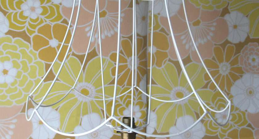 Scallop Bell Diy Lampshade Frame Folly Glee