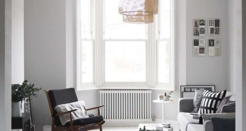 Scandi Style Living Room Makeover Painted White