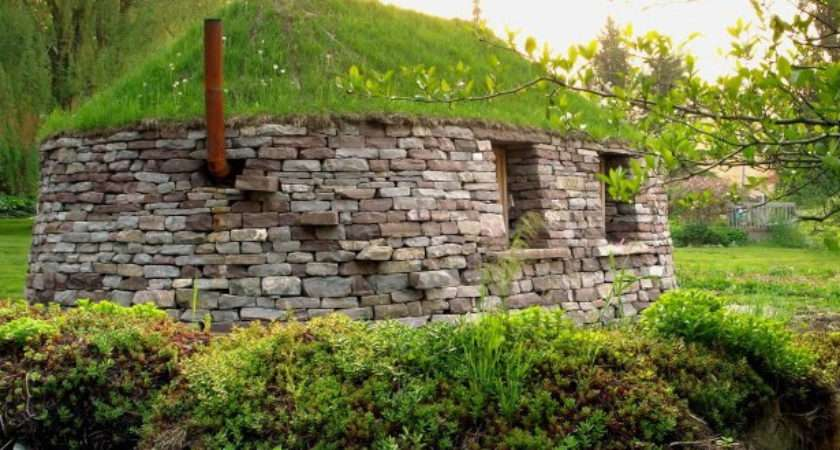 Scottish Dry Stone Blackhouse Canada