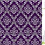 Seamless Damask Victorian Style Design