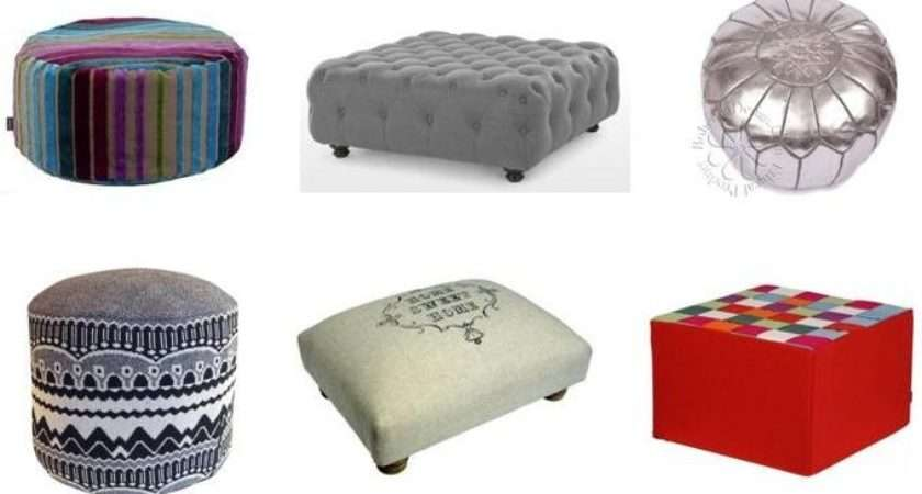 Selection Our Favourite Footstools Ottomans Pouffes