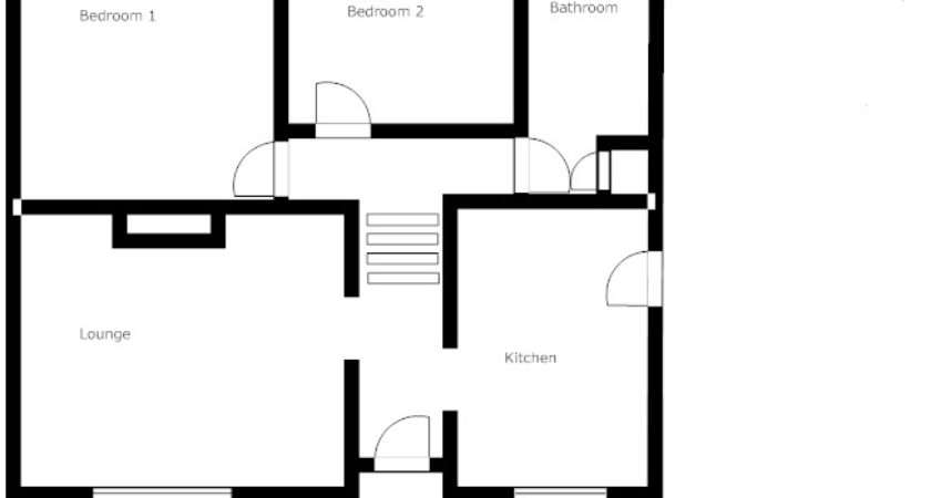 Semi Detached Bungalow Sale Bachelor Pad Floorplan