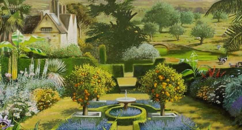 Sequence Artist Rob Collins Shows Typical British Garden Now