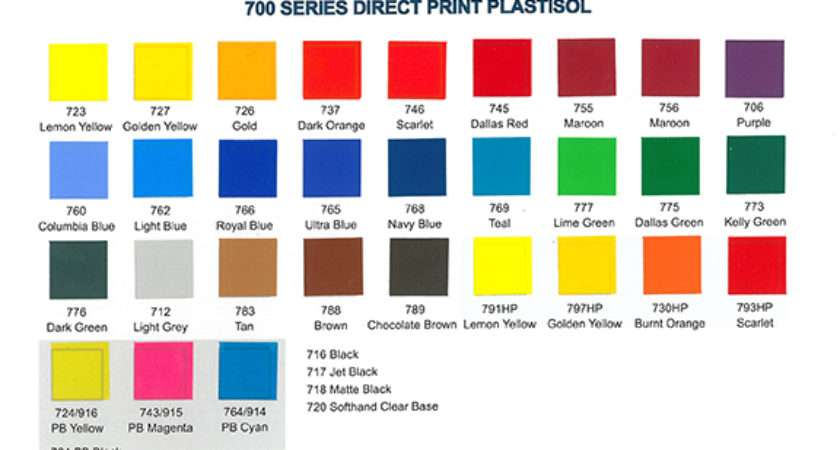 Series Color Chart