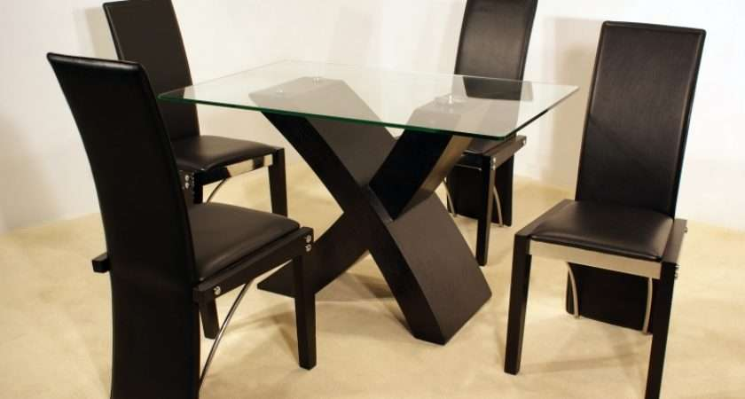 Set Contemporary Dining Modern Flat Pack Furniture