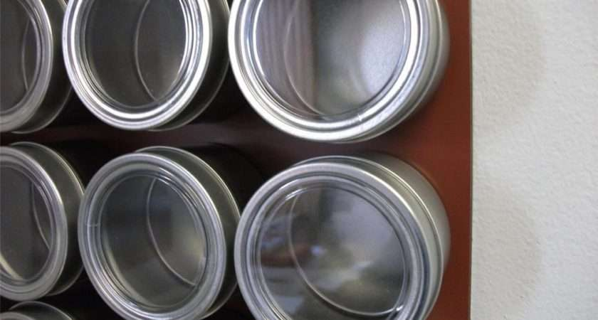 Set Spice Tins Only Add Magnetic Rack Options Ebay