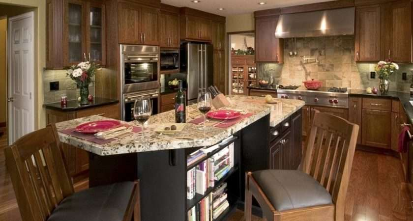 Setting Small Kitchen Island Seating Ideas