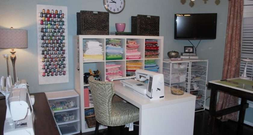 Sew Beautiful Blog Laurie Surprise Sewing Room