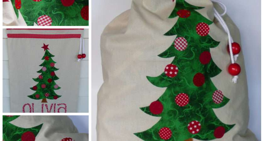 Sew Creative Pinterest Santa Sack Amy Butler Sewing