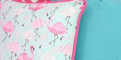 Sew Pillow Cover Piping Easy Way