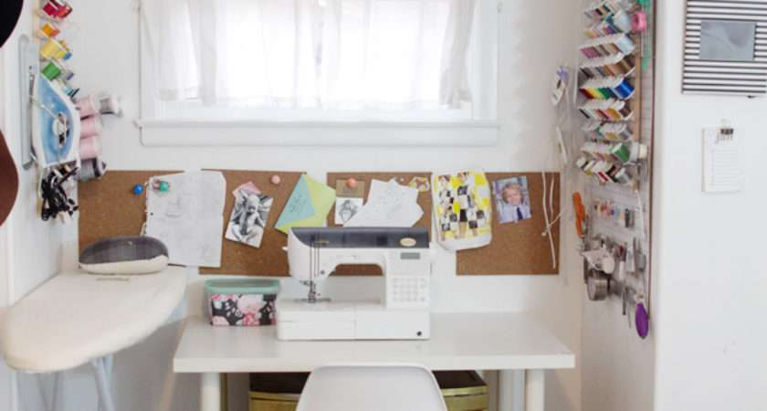 Sew Sewing Room Tour Kate