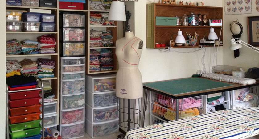 Sewing Room Makeover Quilter